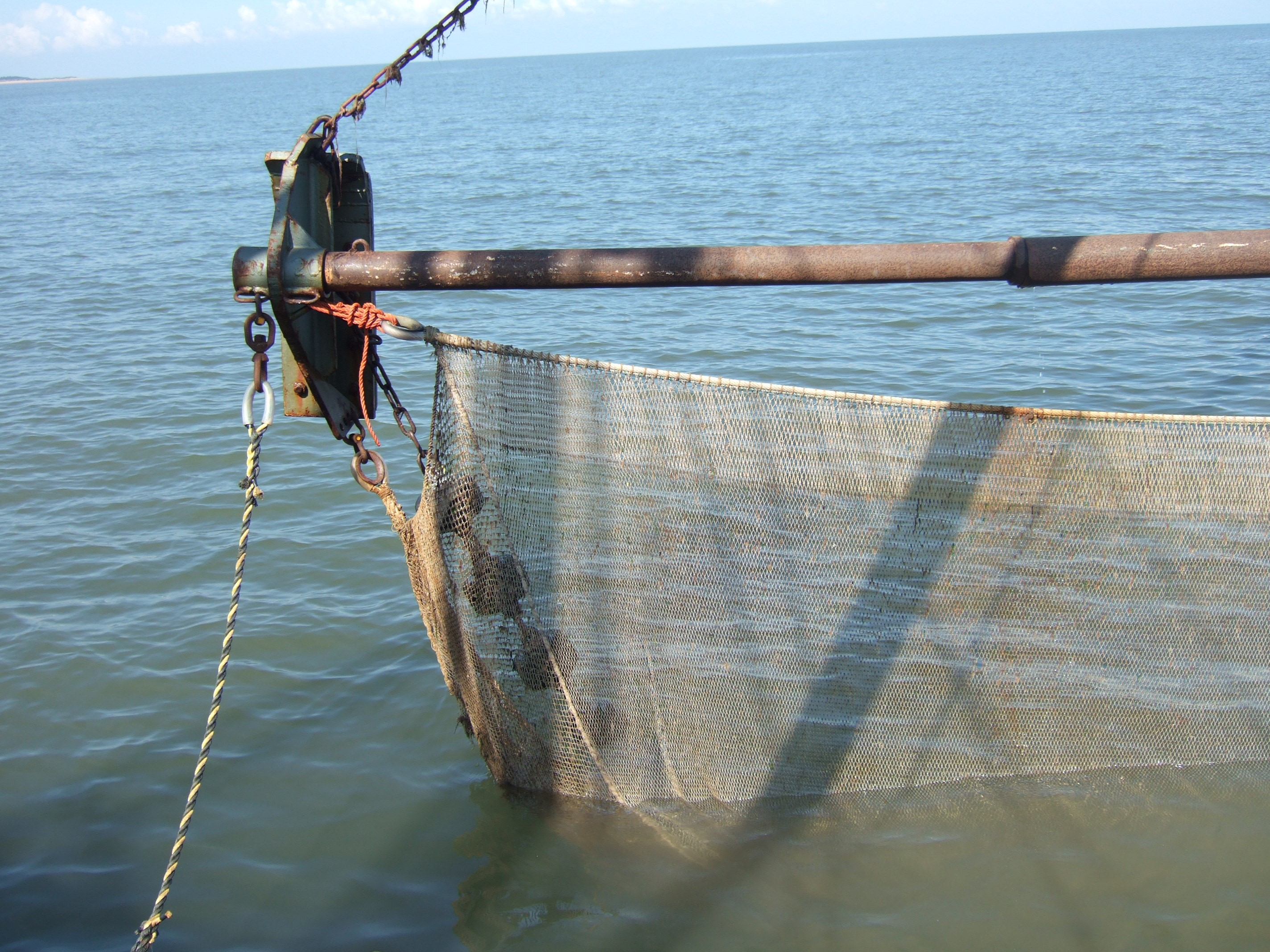 Small Boat: Shrimp Nets For Small Boat